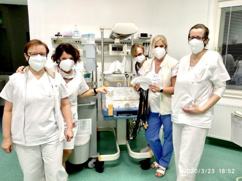 Ochranná rouška proti koronaviru COVID 19 ze 100% bavlny nemocnice dar