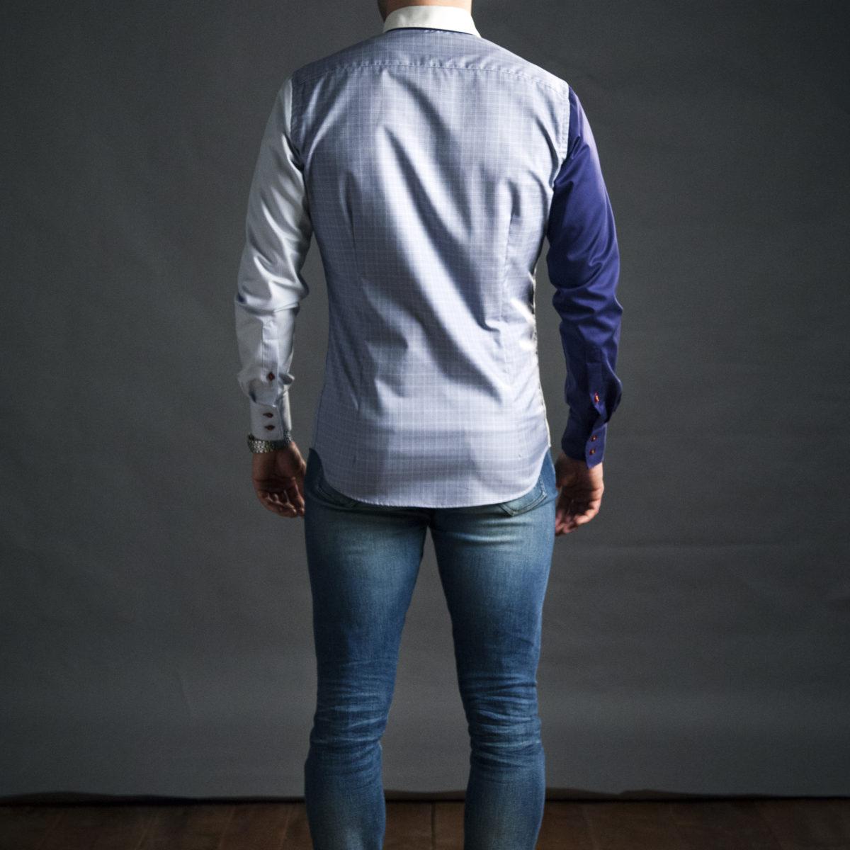 Kvalitní pánská košile na míru se vzorem