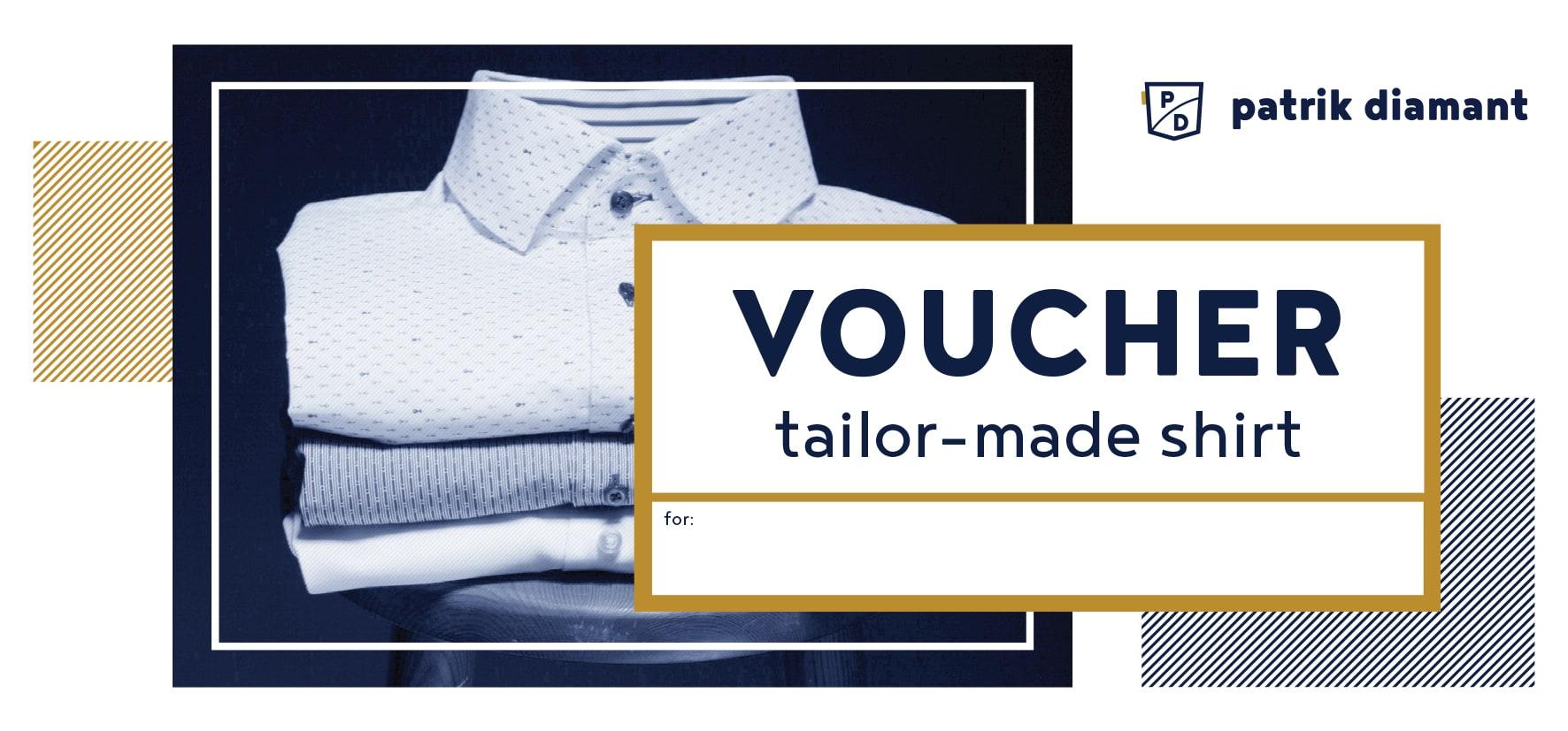 Gift Voucher<br>Tailor-made shirt